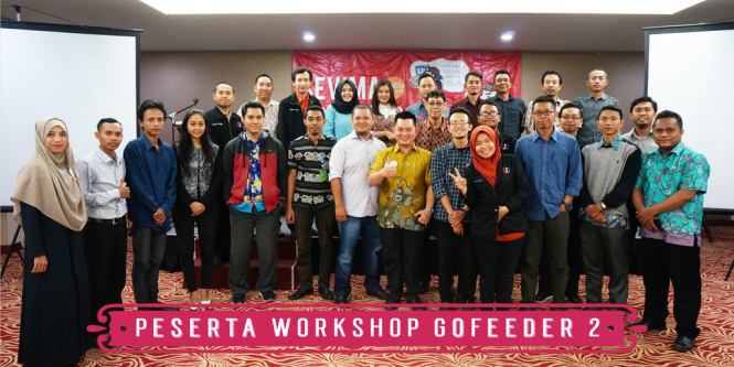 Peserta Workshop Gofeeder 2