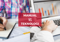 Manual vs Teknologi