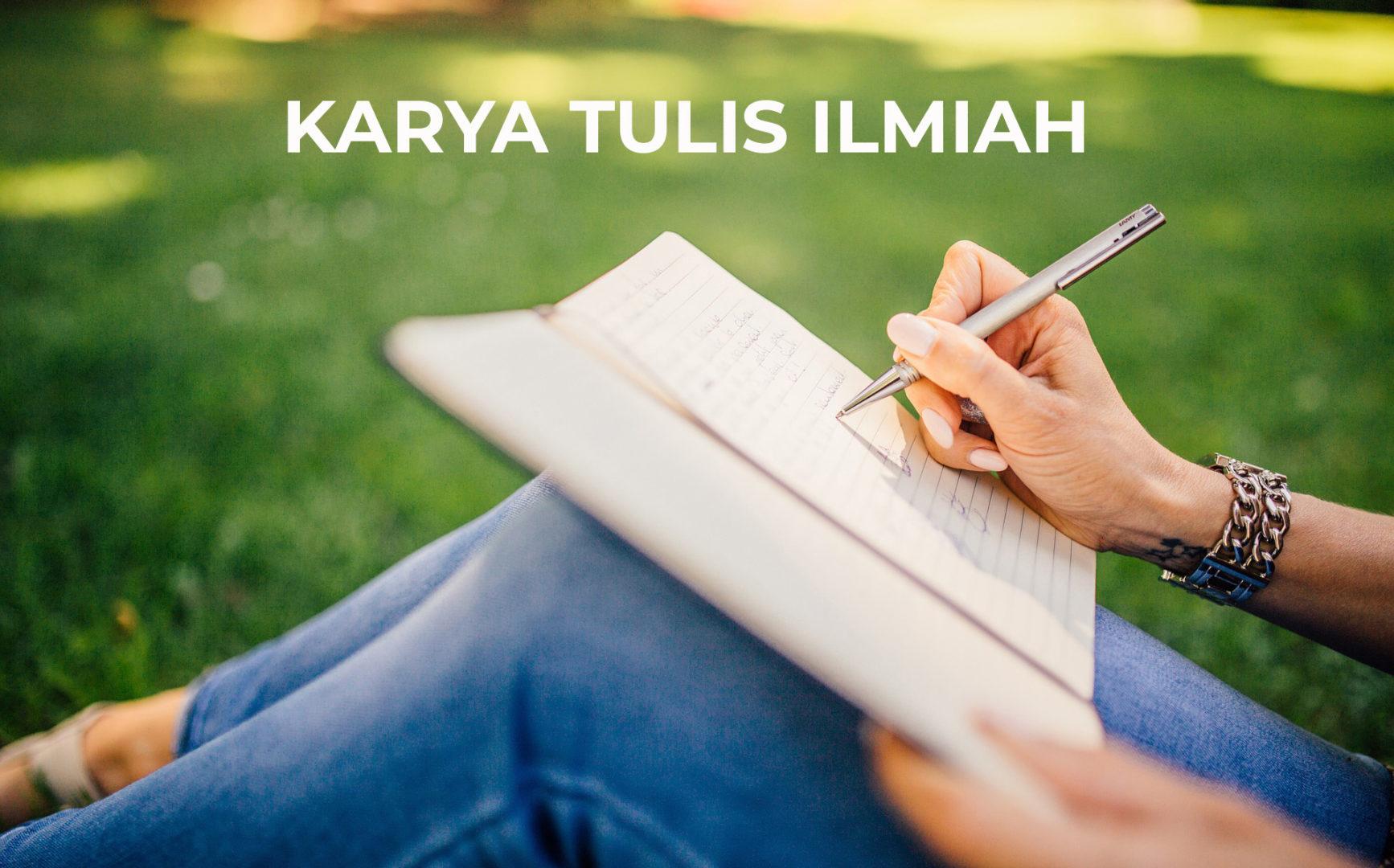 10 Contoh Karya Tulis Ilmiah Kti Yang Baik Benar