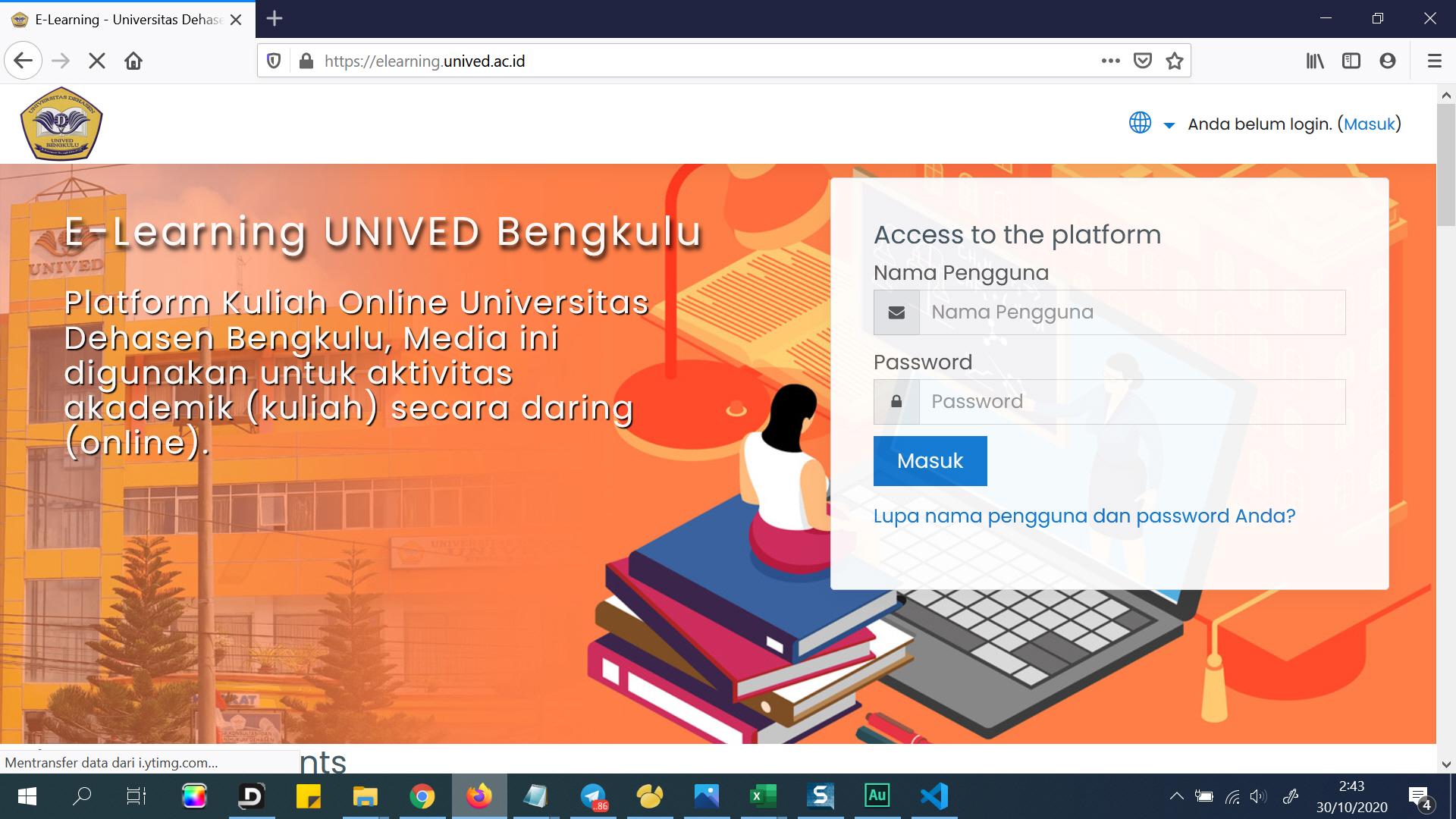 Elearning Universitas Dehasen Bengkulu